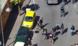 Nocerina - Foggia: disordini e violenti scontri tra ultras